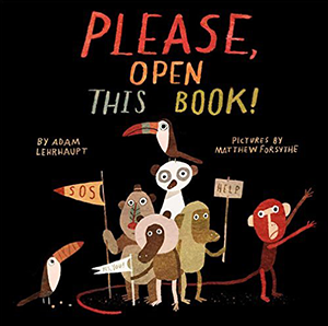 Please Open This Book Cover